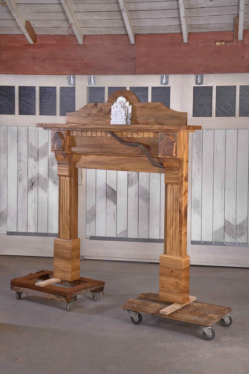 Quasi-Victorian Mantel